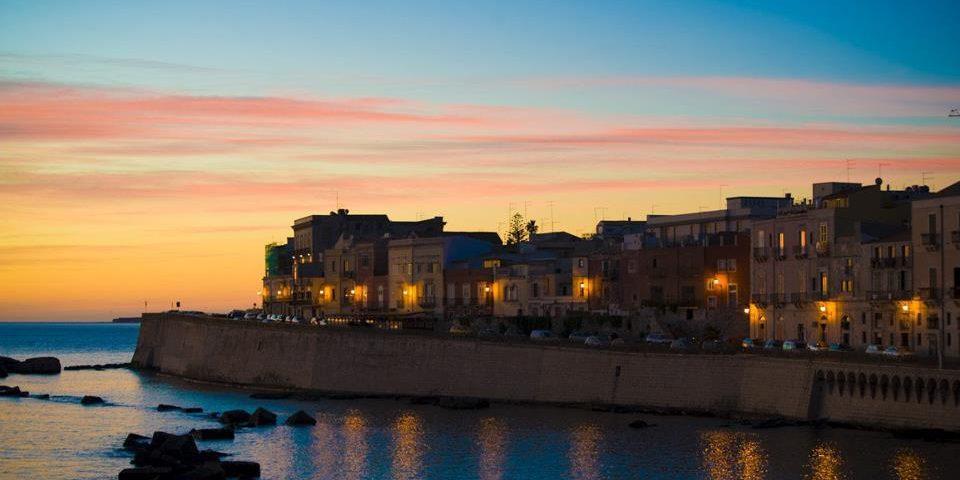 Il centro storico di Siracusa Ortigia